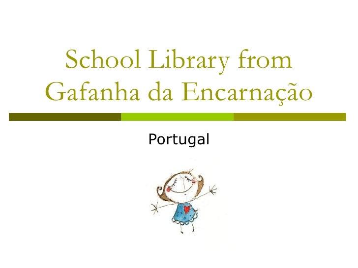 School Library from Gafanha da Encarnação Portugal