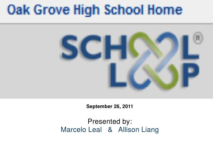 September 26, 2011<br /> <br />Presented by:<br />Marcelo Leal   &   Allison Liang<br /> <br /> <br />