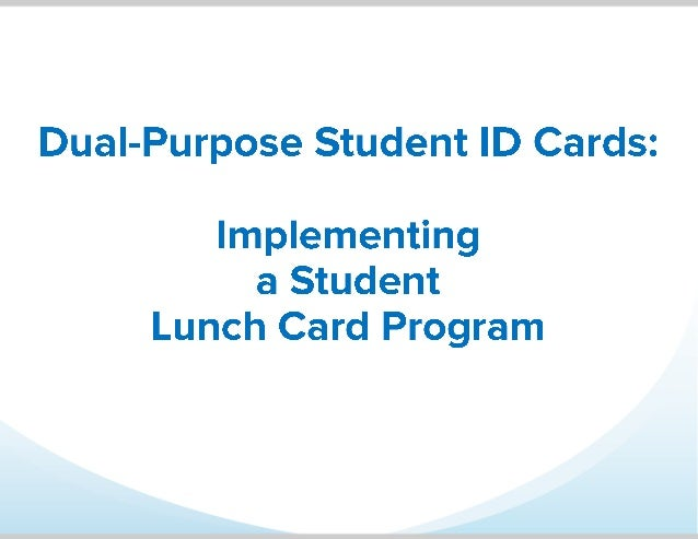 • ID badges aren't just for identification – they can do so much more! • See how a Main School District implemented a stud...
