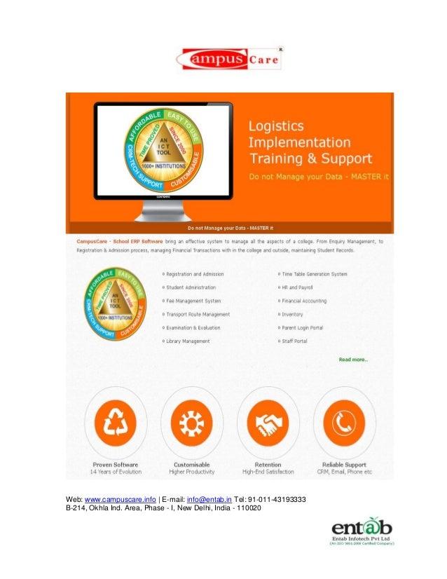 Technology Management Image: School Management Software System