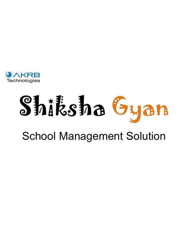 Shiksha Gyan School Management Solution