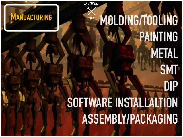 MANUACTURING MOLDING/TOOLING PAINTING METAL SMT DIP SOFTWARE INSTALLALTION ASSEMBLY/PACKAGING