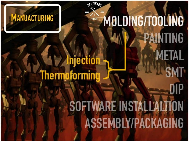 MANUACTURING MOLDING/TOOLING PAINTING METAL SMT DIP SOFTWARE INSTALLALTION ASSEMBLY/PACKAGING Injection Thermoforming