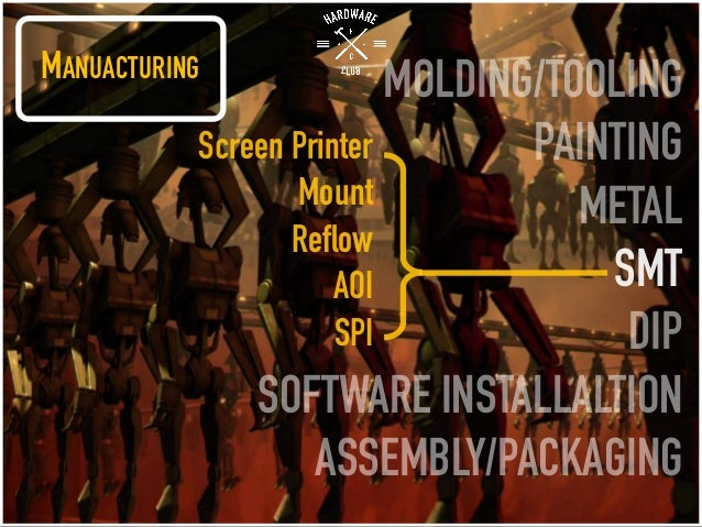 MANUACTURING MOLDING/TOOLING PAINTING METAL SMT DIP SOFTWARE INSTALLALTION ASSEMBLY/PACKAGING Screen Printer Mount Reflow ...