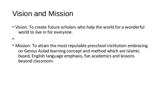preschool mission statement examples islamic preschool marketing 728