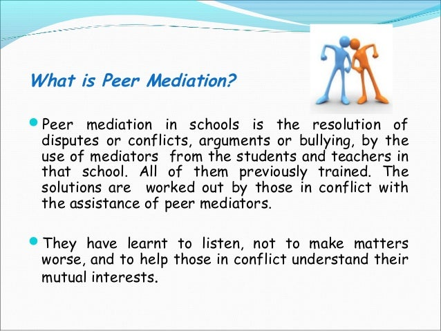 Conflict Resolution at School & on the Playground