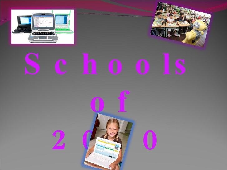 Schools of 2020