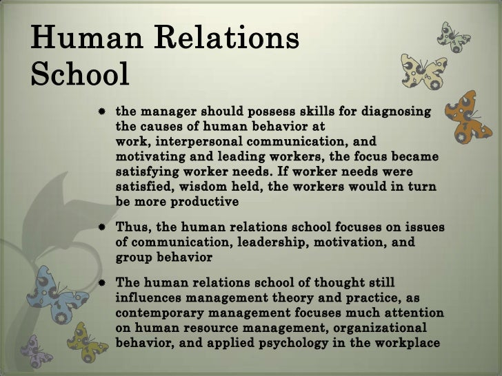 system school of management thought School of thought management  major contributor to this school of management thought  is a social system and informal group influence could exert a powerful .