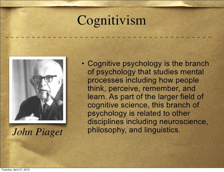 "school of thought in psychology Behaviorism is a school of psychology that is based on the premise that it is not possible to objectively study the  and they thought: ""maybe this is a war-party."
