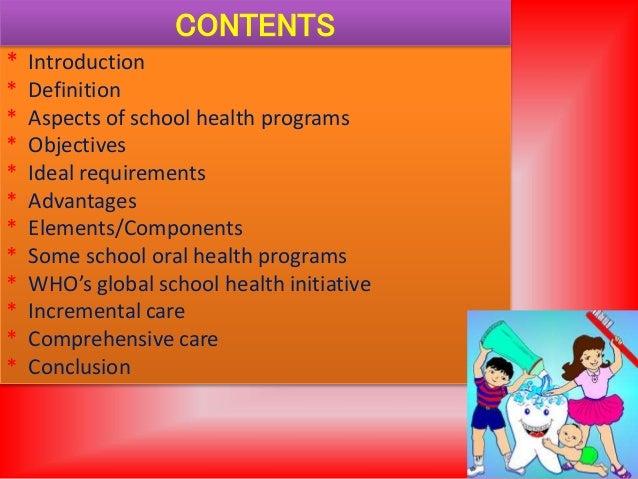 School oral health program Slide 2