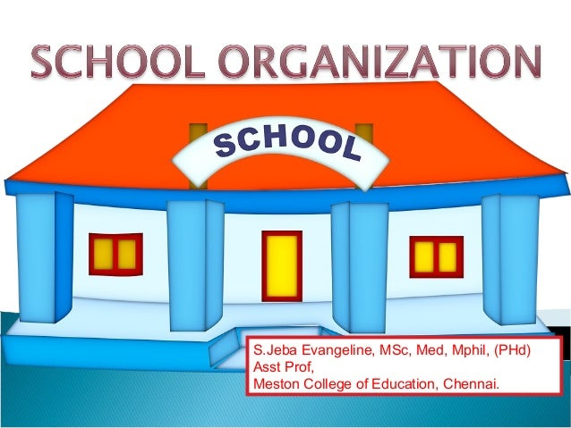 schools as organization Title = assessing the functioning of schools as learning organizations, abstract = in the context of current efforts to increase student performance and to close the significant gaps in performance among student subgroups, school researchers and practitioners are paying increasing attention to schools as learning organizations.