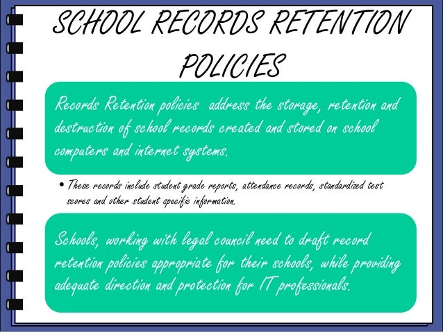 retention policy in college of accountancy College survival packages for college-age children  employee retention guide 5  communication policy.
