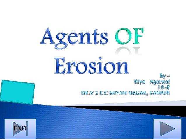 Agents of Erosion Slide 1