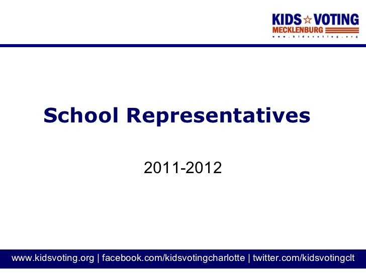 School Representatives 2011-2012