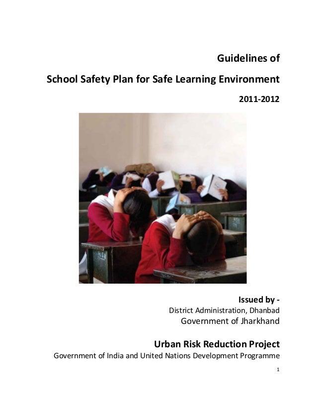 """1_""""______GuidelinesofSchoolSafetyPlanforSafeLearningEnvironment2011‐2012Issuedby‐DistrictAdm..."""
