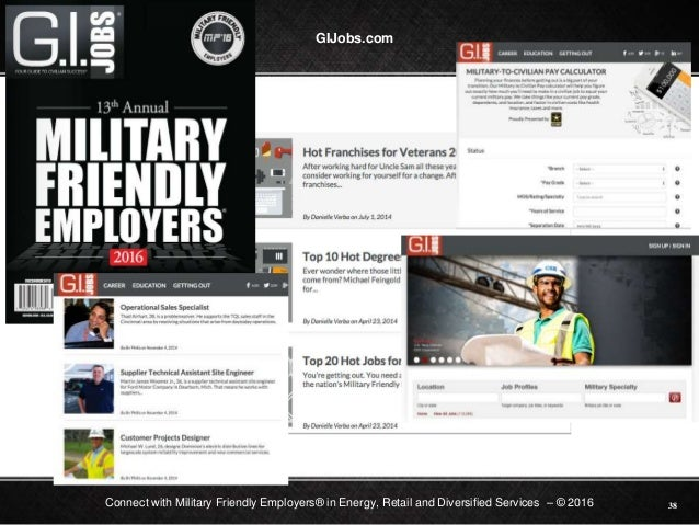 Military connect website