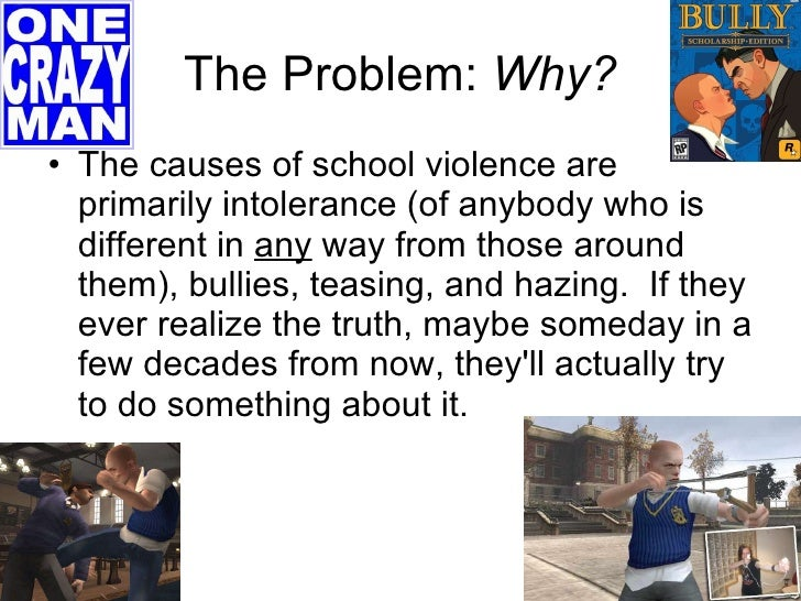 causes of school violence Contribute to the repository we are seeking early adopters of the repository at the st augustine campus if you wish to start a community or collection, you can contact the dspace development team at the alma jordan library, st augustine, at extensions 84243, 82241, 82215 or email uwispace.