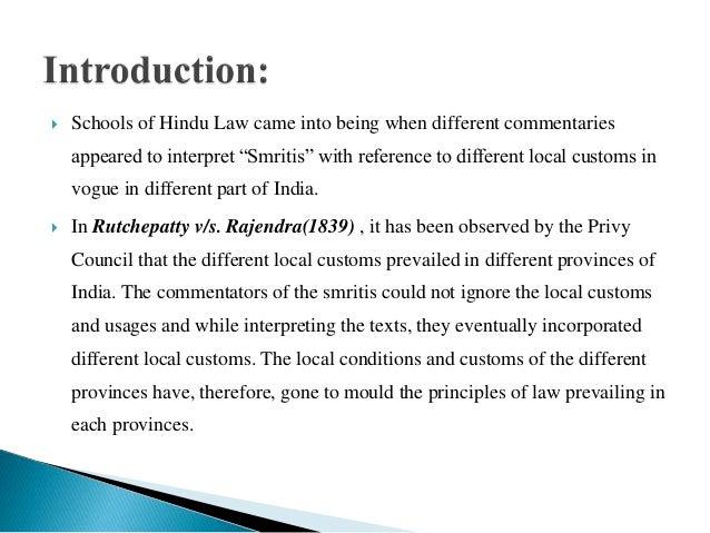 Schools of hindu law Slide 2