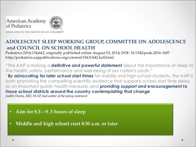 later school times Teens seem more relaxed in the morning, but there are drawbacks to later school start times.