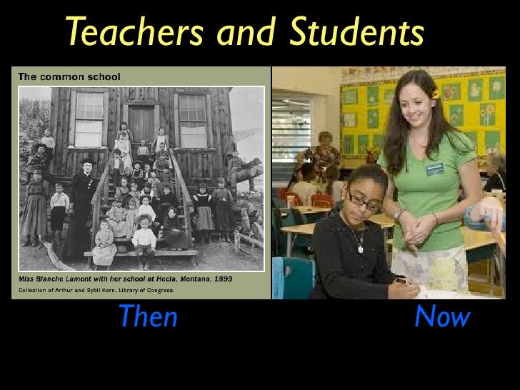 schools then and now Teacher's guide 2 going to school then and now school life during the depression now clothing girls all wore dresses, boys sometimes wore.