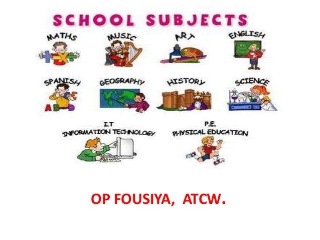 school subject amp academic discipilne