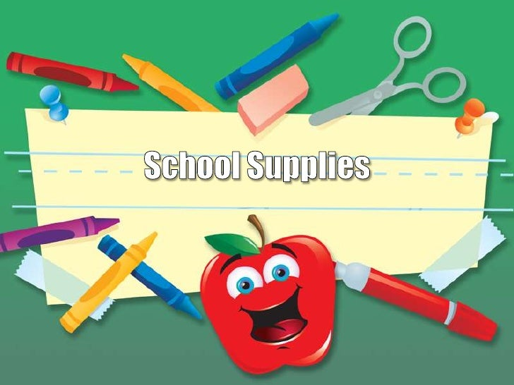 School supplies design template toneelgroepblik Image collections