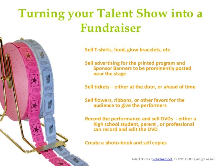 School Talent Shows For Fun And Fundraising