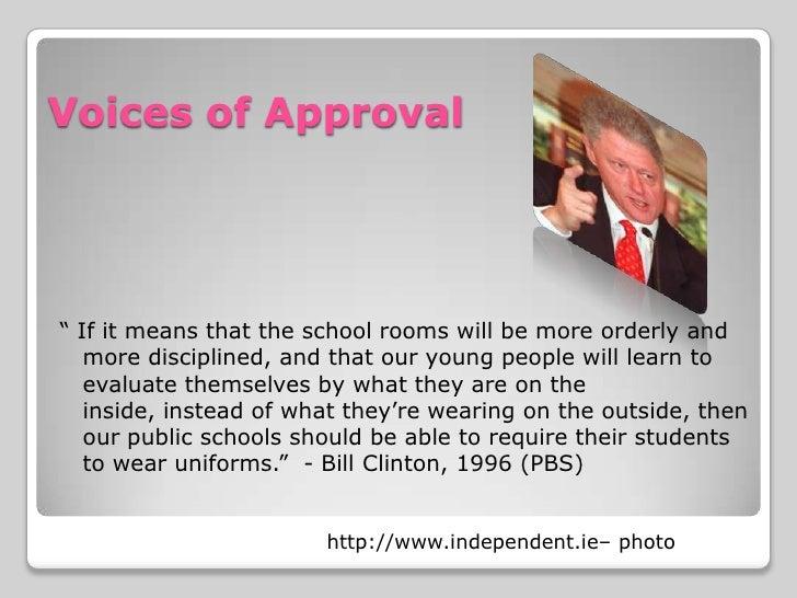 should public schools require uniforms essay