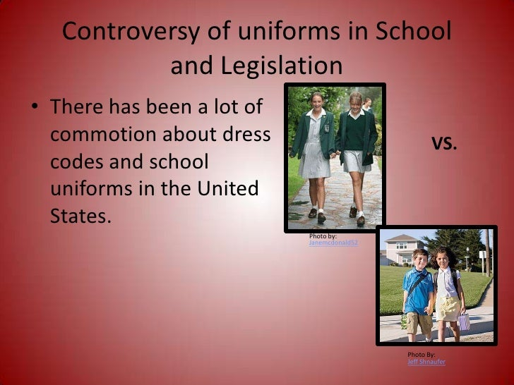 pros and cons of school uniforms thesis School uniforms elicit varied, and usually opposing responses from students and parents when there is a debate between functionality and fashion, conflicting opinions emerge here are the pros and cons of having uniforms at school.