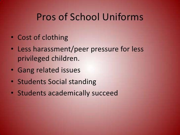 Why I Am Against School Uniforms