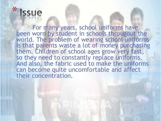 School uniforms should be abolished