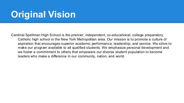 School Vision Presentation