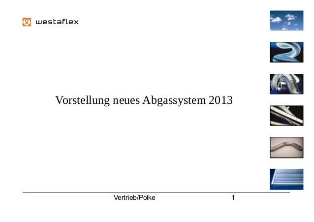 12  Vorstellung neues Abgassystem 2013  Vertrieb/Polke  1