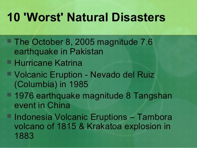 Nevado Del Ruiz Columbia Natural Disasters