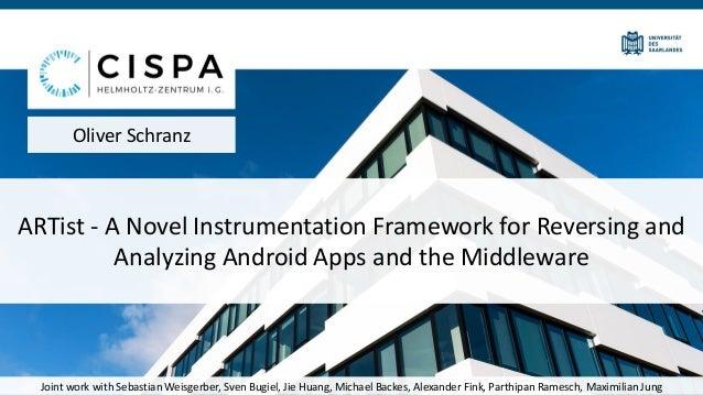 ARTist - A Novel Instrumentation Framework for Reversing and