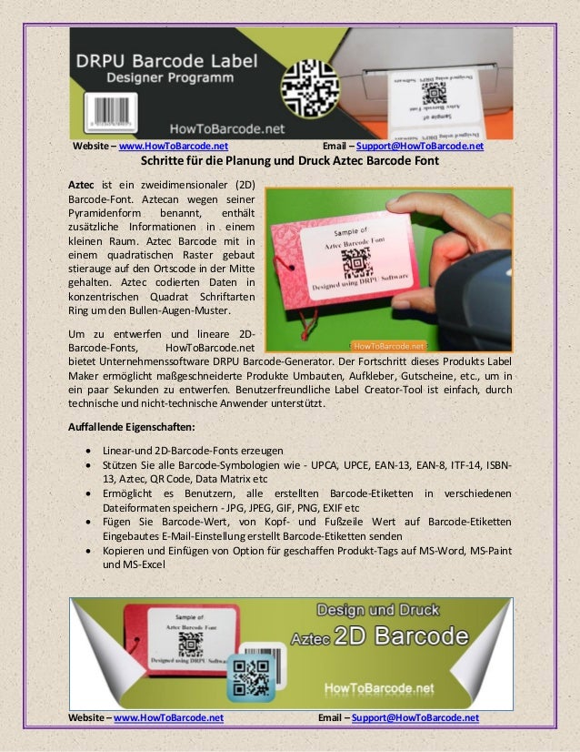 Website – www.HowToBarcode.net Email – Support@HowToBarcode.net Website – www.HowToBarcode.net Email – Support@HowToBarcod...