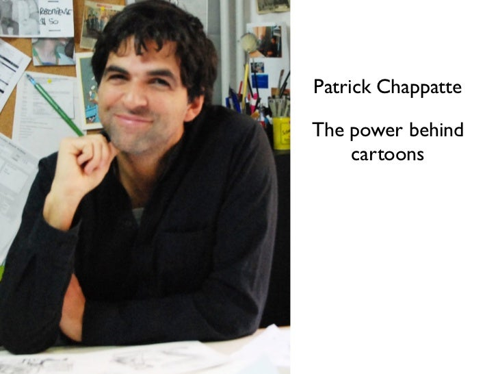 Patrick ChappatteThe power behind    cartoons