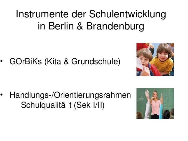 """GOrBiKs• """"Gemeinsamer Orientierungsrahmen fü die                                      r  Bildung in Kindertagesbetreuung u..."""