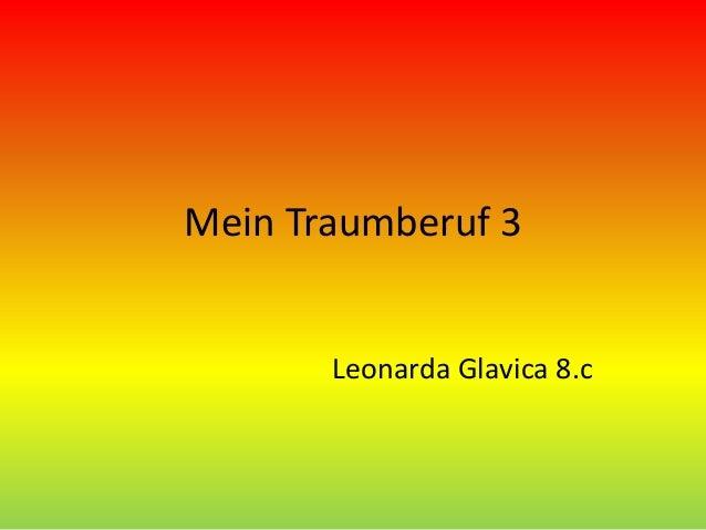 Mein Traumberuf 3 Leonarda Glavica 8.c