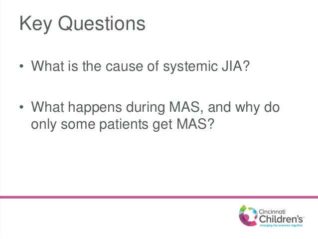 Research Updates in SJIA & MAS - Grant Schulert Slide 2