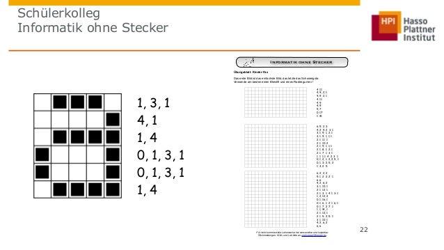 Schülerkolleg  Informatik ohne Stecker  22  Informatik ohne Stecker  Worksheet Activity: Kid Fax  Übungsblatt: Kinder-Fax ...