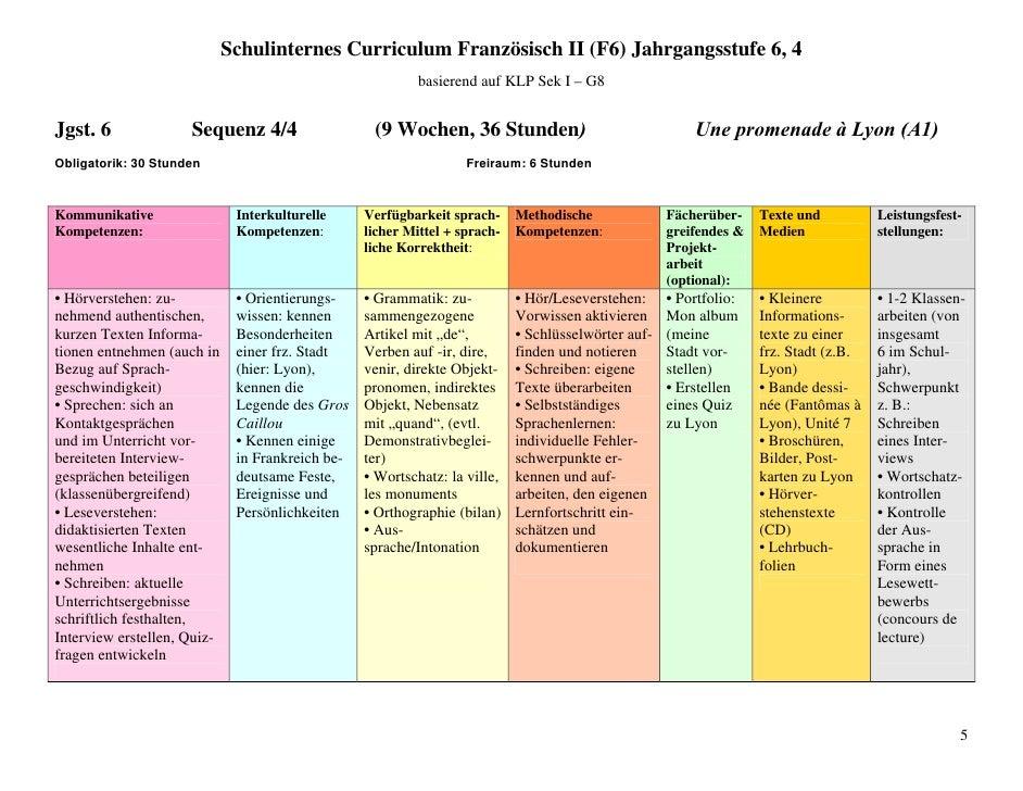 Schulinternes curriculum-f-09