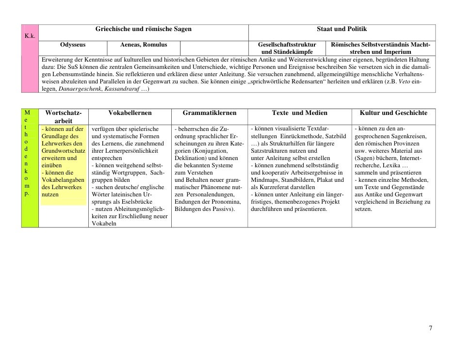 schulinternes curriculuml09