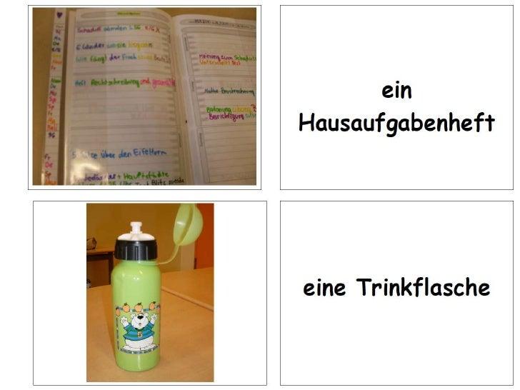 Schulsachen Memory deutsch