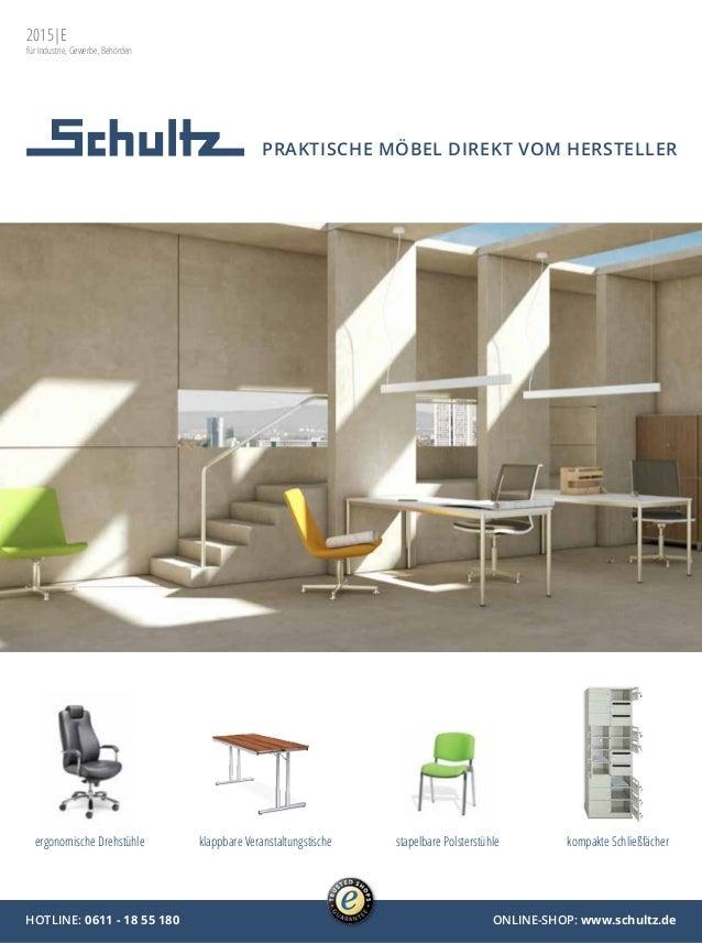 Schultz Büromöbel & Betriebseinrichtungen - Katalog 2015/16