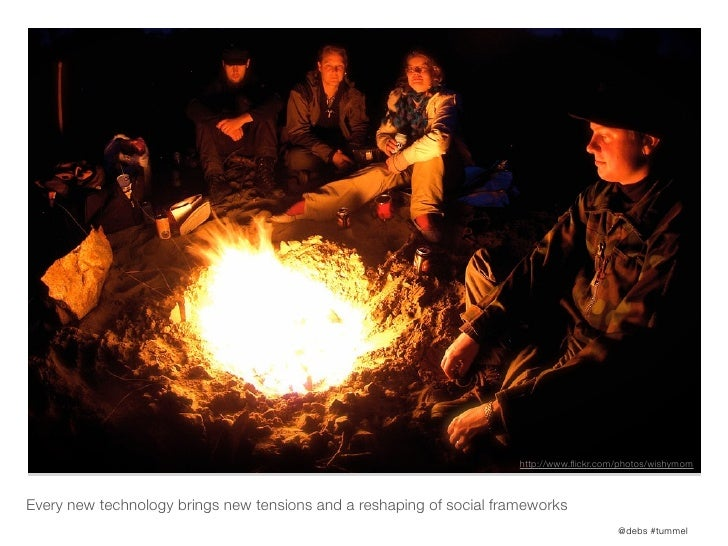 http://www.flickr.com/photos/wishymomEvery new technology brings new tensions and a reshaping of social frameworks         ...
