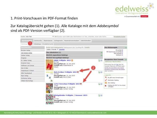 Schulungsunterlagen buchhändler printvorschauen als pdf herunterladen und drucken Slide 2