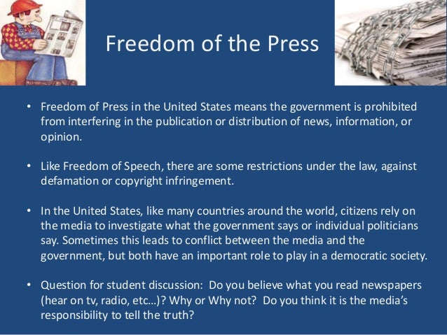 the importance of the freedom of expression to the united states At the time the united states adopted the first amendment to of expression the freedom of expression at the cost of other important values.