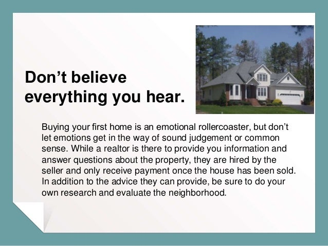 First Time Home Buyer? Tips To Help Make It Easier