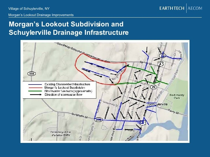 Morgan's Lookout Subdivision and  Schuylerville Drainage Infrastructure